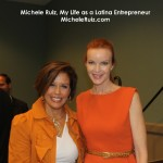 Michele Ruiz and actress Marcia Cross