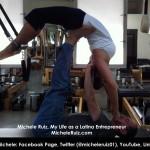 Michele pilates reverse swan