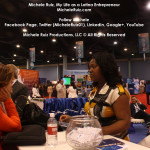 Michele Ruiz at USHCC 2011 Expo