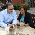 Michele Ruiz meeting with Amir Banifatemi