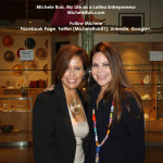 Michele Ruiz with Nely Galan