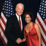 Michele Ruiz with Vice President Biden