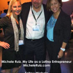 Michele with Susie Algin Najera and Rick Najera