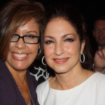 Michele Ruiz and Gloria Estefan