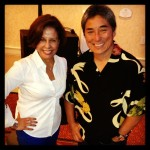 Michele Ruiz with author, entrepreneur and venture capitalist Guy Kawasaki at WITI event June 2013