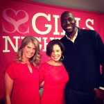 Michele Ruiz NBC John Salley basketball